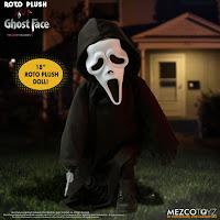 Mezco Toyz MDS Roto Plush Ghost Face