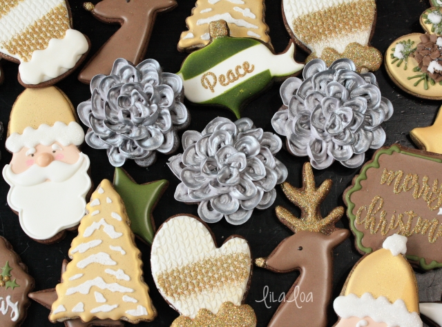 How to make thick royal icing decoratins that stay soft and loop flower video tutorial