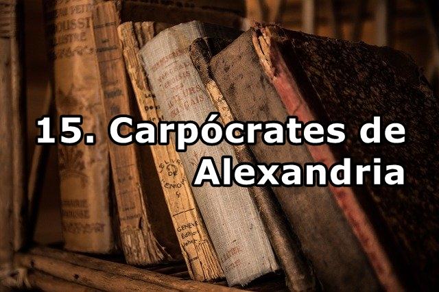 15. Carpócrates de Alexandria