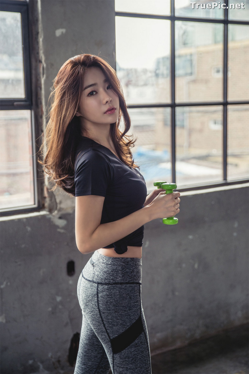 Image Korean Beautiful Model – An Seo Rin – Fitness Fashion Photography #2 - TruePic.net - Picture-4