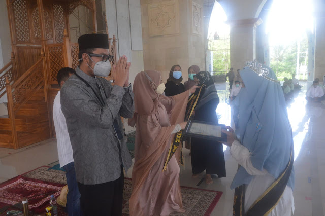 Santri Ponpes Istiqamah Bongki Tambah Daftar Penghafal Al-Quran di Sinjai