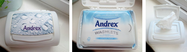 Andrex Flushable Toilet Tissue Wipes
