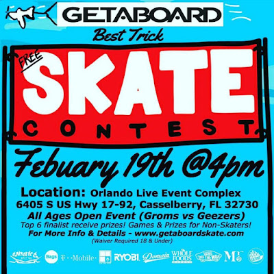 skateboard contest orlando live events