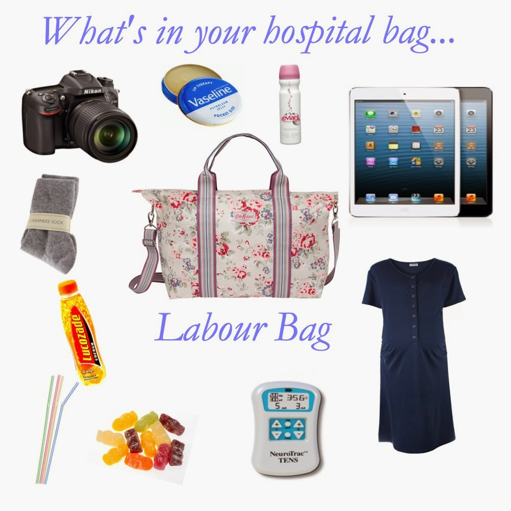 mamasVIB | V. I .BAG: Whats inside your hospital bags - yes bags! Why one bag isn't enough…. | Whats inside your hospital bags - yes bags | Why one bag isn't enough | labour bag | hospital bag | baby bag | essential items for hospital bag | baby essentials for hospital | mum and baby | birth plan | hospital list | new baby | hospital stay | Cath Kidston | maternity nightwear | burts bees | baby products | birth day | mamasVIB |