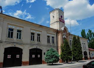 Дніпро. Пожежна частина. Виставка пожежно-рятувальної служби.