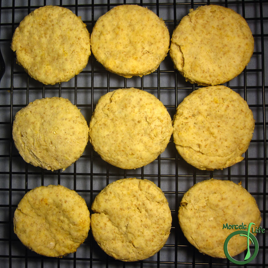 Morsels of Life - Oatmeal Biscuits - Change up your standard biscuits by adding oatmeal for some tasty, filling, and healthy oatmeal biscuits!