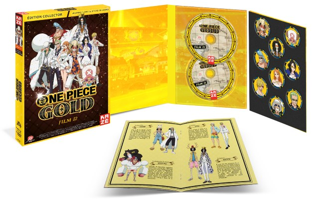 One Piece Gold - Coffret collector DVD et Blu-ray