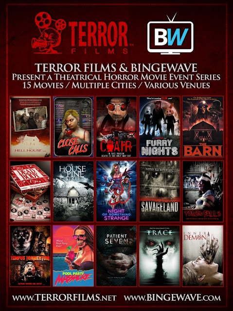 Terror Films & Binge Wave Poster