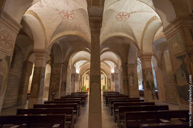 Inglesia San Fermo inferior Verona Italia viaje monumentos