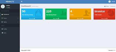 Aplikasi Inventory Gudang Berbasis web Gratis dengan Php dan Mysql Codeigniter