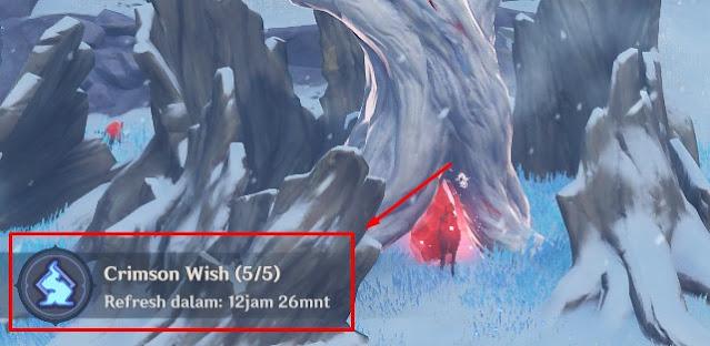 waktu reset crimson wish