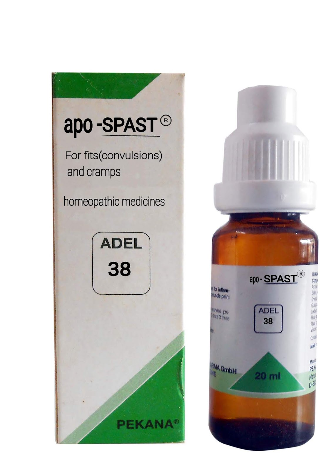 Adel 38 apo Spast(Homeopathic,Medicines,)Drops For Fist