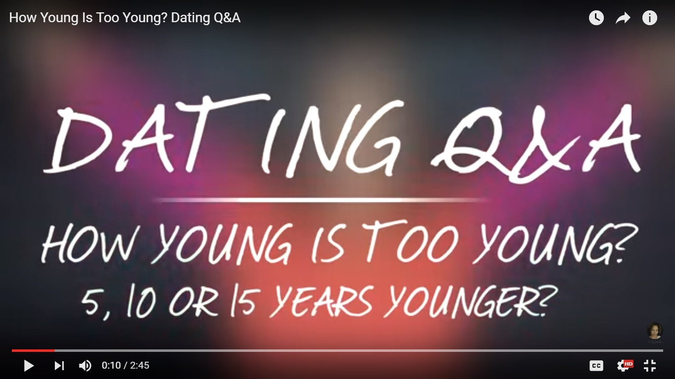 how young is too young to be on a dating site