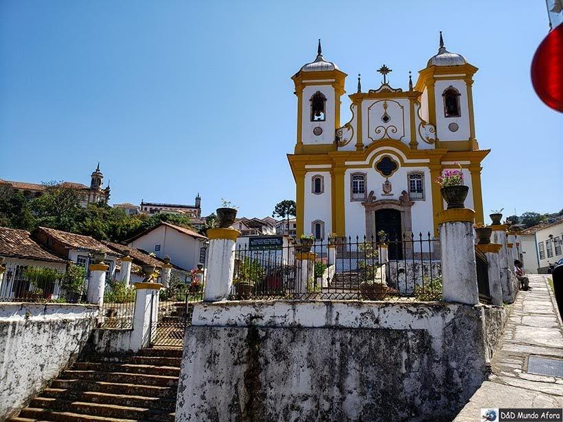 Igreja de Nossa Senhora da Conceição - O que fazer em Ouro Preto (MG)