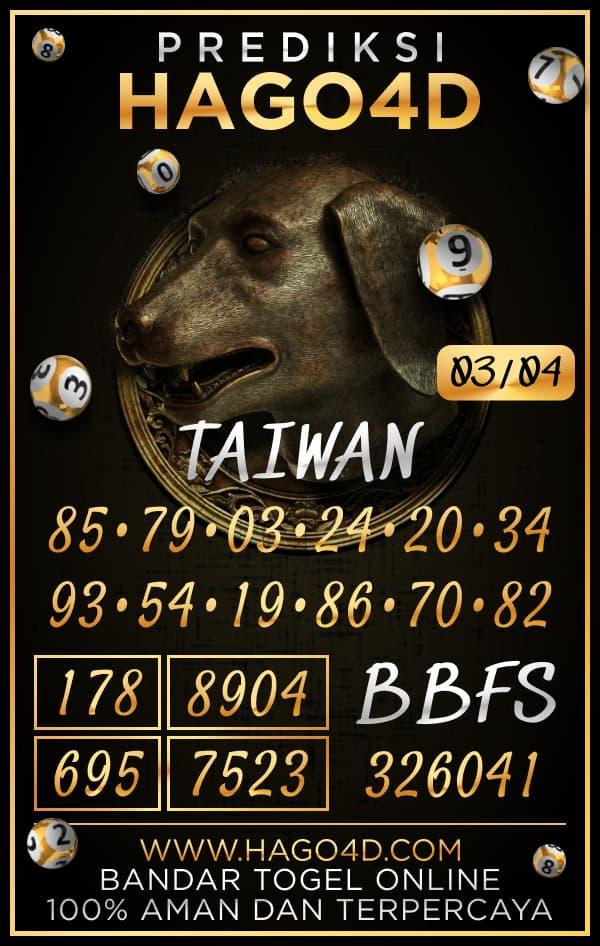 Prediksi Hago4D - Rabu, 3 April 2021 - Prediksi Togel Taiwan