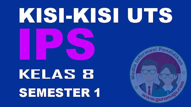 Kisi-Kisi UTS IPS Kelas 8 Semester 1 Kuriulum 2013 Tahun 2022