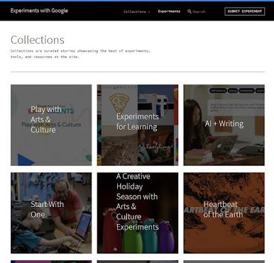 Des Google Easter Eggs des Collections de Experiments With Google