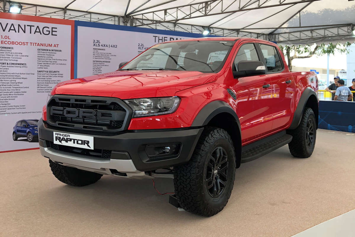 ford brings ranger raptor on its first public test drive tour philippine car news car reviews. Black Bedroom Furniture Sets. Home Design Ideas