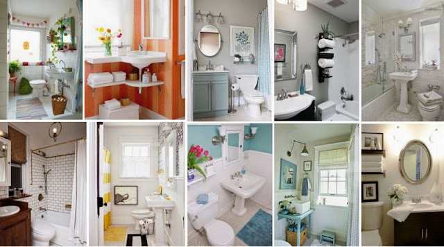 30+ Ιδέες Διαμόρφωσης για Μικρά Μπάνια