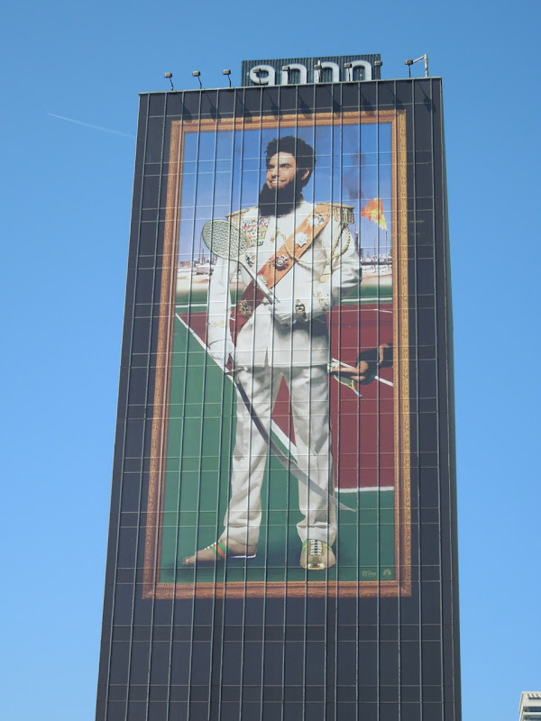 Giant Dictator movie billboard