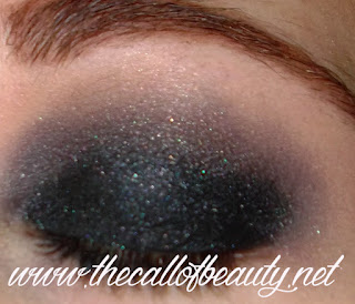 Make Up Tutorial: Black Glitter Smokey Eyes