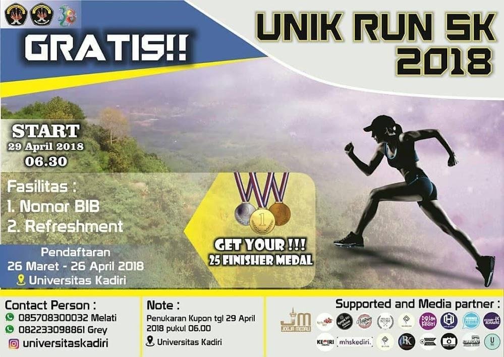Unik Run 5K • 2018