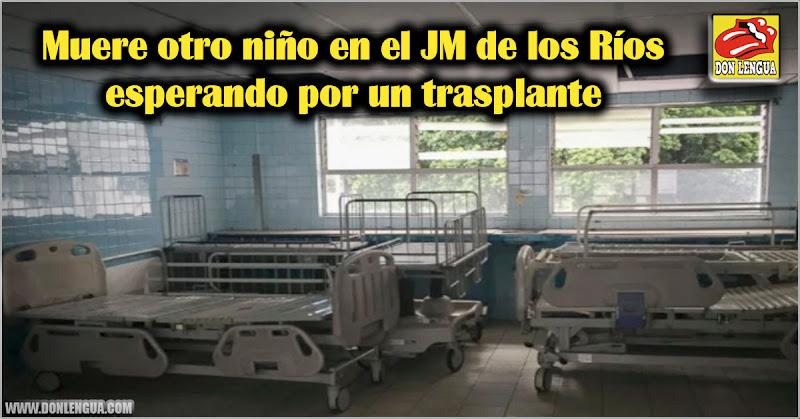 Muere otro niño en el JM de los Ríos esperando por un trasplante