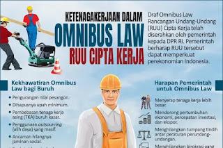 Buruh dan DPR Sepakat Mendukung Omnibus Law Cipta Kerja