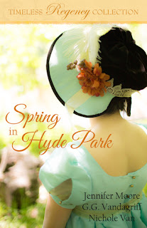 Heidi Reads... Spring in Hyde Park (Timeless Regency Collection) by Jennifer Moore, G.G. Vandagriff, Nichole Van