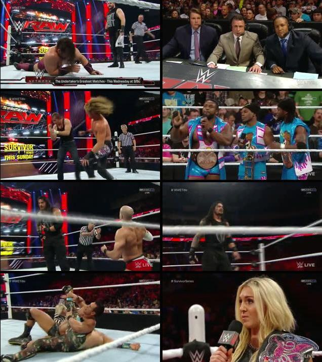 WWE Monday Night Raw 16 Nov 2015 HDTV 480p