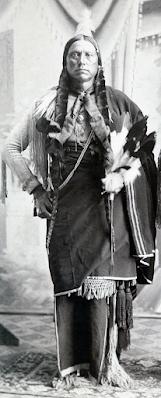 Quanah Parker, (c)Daniel P. Sink of Vernon Texas (image)
