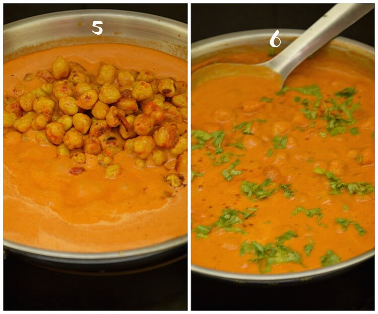 how to make vegan chickpea tikka masala