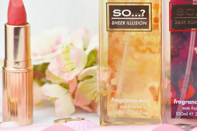 So...? The Collection Fashion Fragrance Mists Review and Giveaway