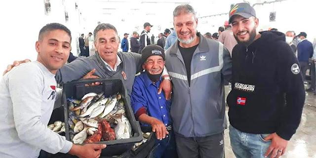 افتتاح موسم الصبارص بميناء الشابة