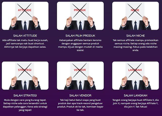 masalah affiliate