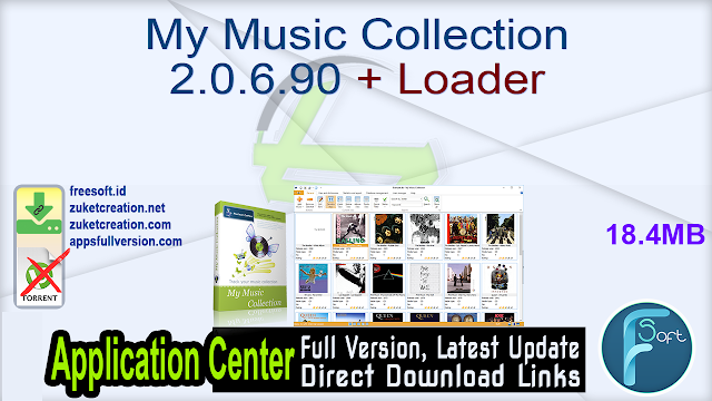 My Music Collection 2.0.6.90 + Loader