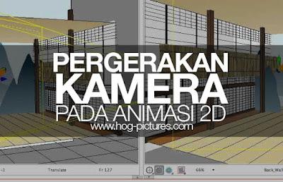 Pergerakan Kamera pada Animasi 2D