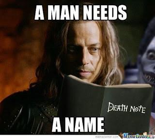 Meme de humor sobre Juego de tronos y Death Note