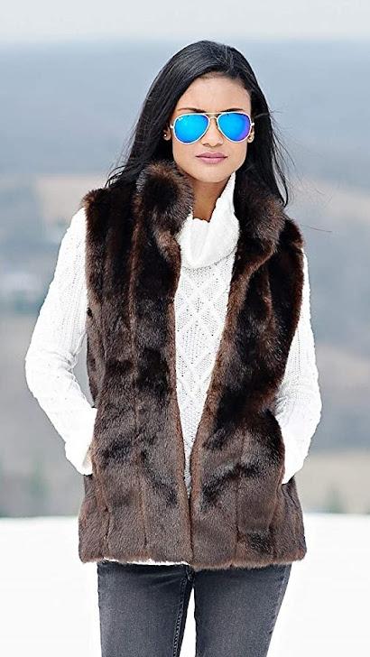 Good Quality Faux Fur Vest for Women