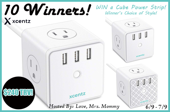 Cube Power Stick Giveaway 10 Winners