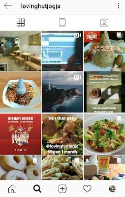 Restoran cepat saji sehat di Jogja