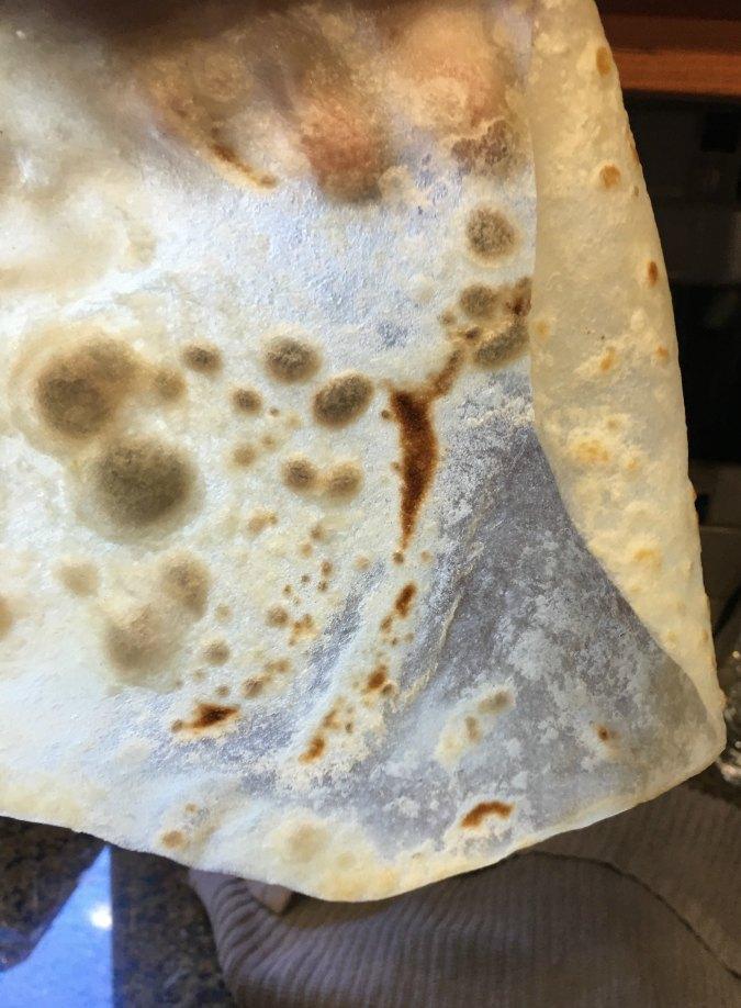 Transluscent pancake