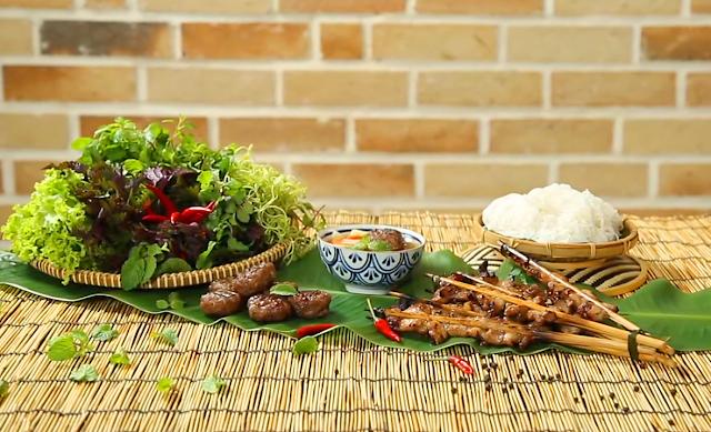 Bún chả Hà Nội - Món ngon ẩm thực Hà thành