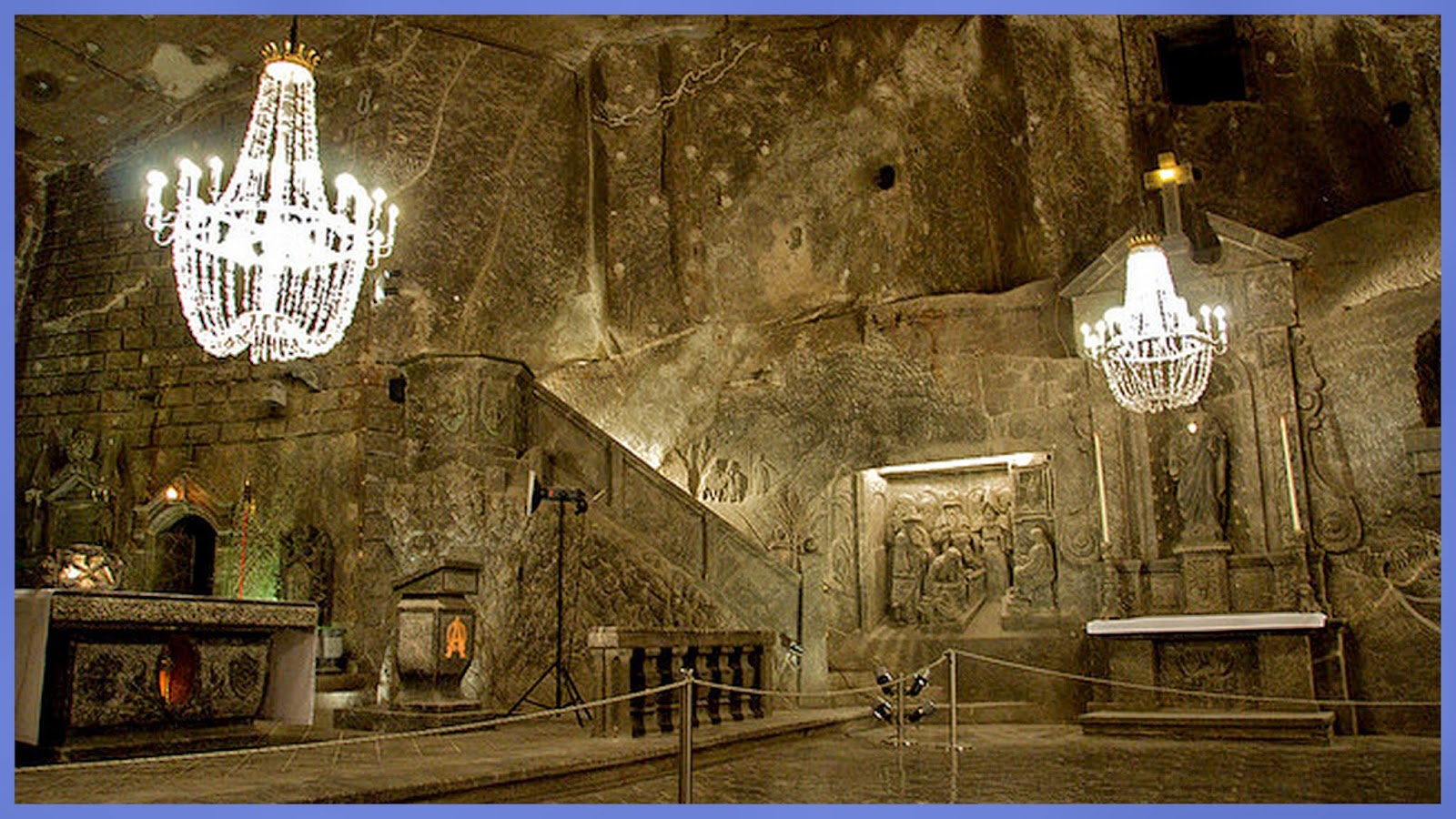 re train your brain to happiness the amazing wieliczka salt mines of poland. Black Bedroom Furniture Sets. Home Design Ideas