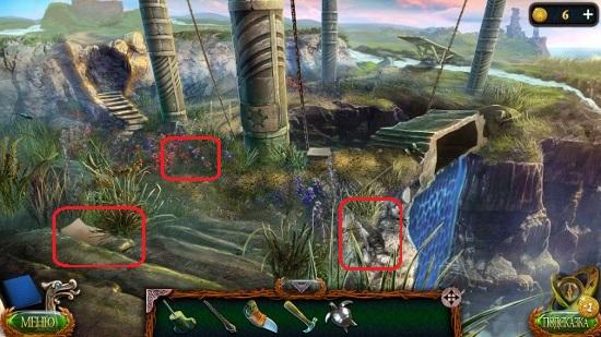 манускрипт лежит на ступеньках в игре затерянные земли 4 скиталец