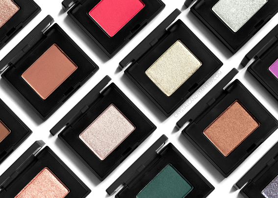 NARS Single Eyeshadows New Formula 2018 Review Photos Swatches