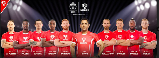 Dream11 signs-up 9 International Cricketers