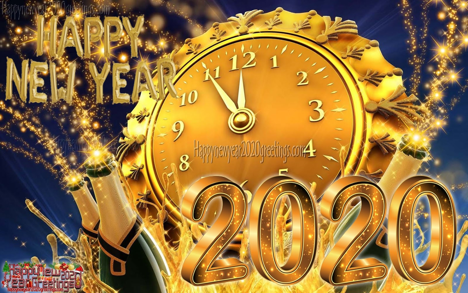 Happy New Year 2020 Images HD 1080p - New Year 2020 Ultra HD