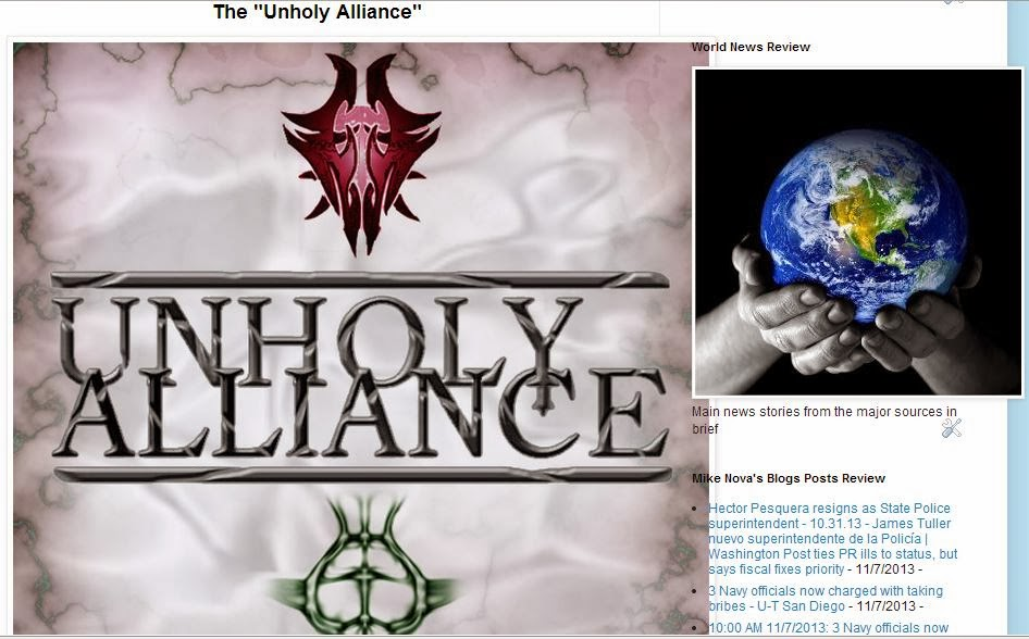 The Unholy Alliance - Review by Mike Nova