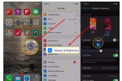 √ Cara Mengaktifkan Mode Gelap di iPhone dan iPad